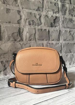 👜 женская кожаная сумка polina & eiterou натуральная кожа / на...