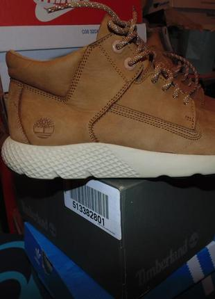 Кроссовки ботинки timberland оригинал кожа , коробка