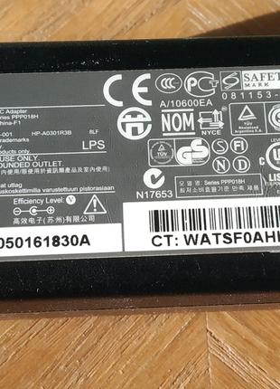 Блок питания 1,58А, 30Вт к нетбуку HP Compaq mini 102, 4 х 1,7 mm
