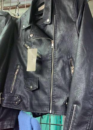 Косуха курточка экокожа кожанка