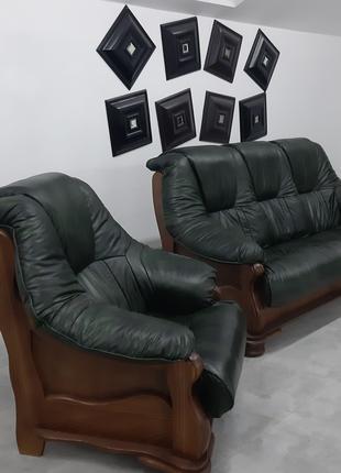 Диваны классика, классическая мягкая кожаная мебель
