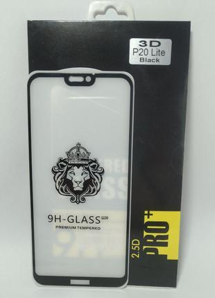 Захисне скло Huawei P20 Lite Black
