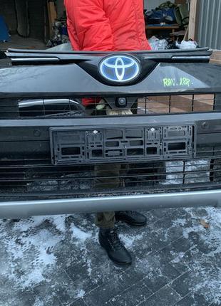Бампер передний оригинал комплектный Toyota RAV4 Rav 4 Тойота Рав