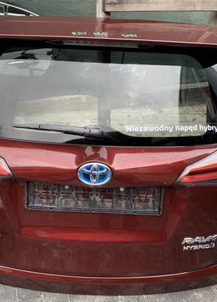 Крышка кришка ляда багажника задняя Toyota RAV4 Rav 4 Тойота Рав