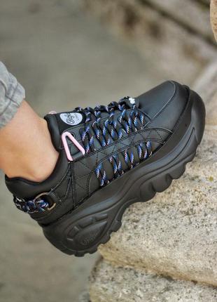 Buffalo  london black кроссовки женские буфало