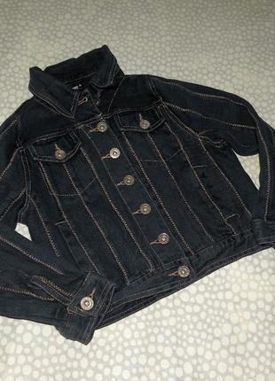 Джинсовая куртка 6-8 лет