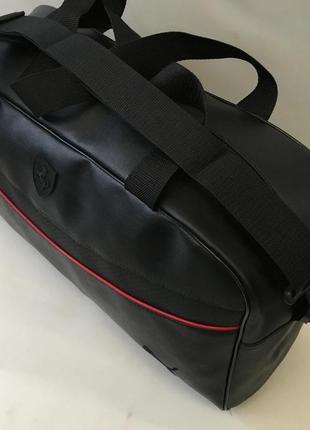 Спортивная дорожная сумка , качественная сумка из эко кожи