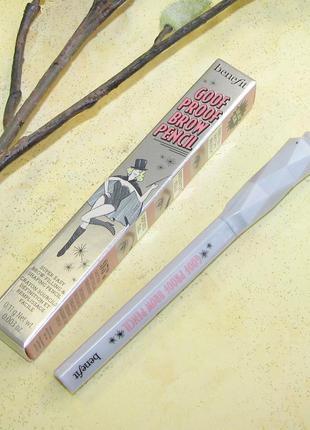 Карандаш для бровей benefit goof proof brow pencil, оттенок 3,...