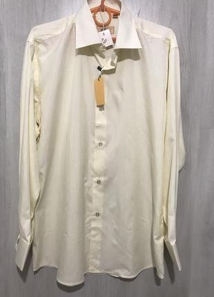 Рубашка мужская l&viktor c запонками 020 {l}