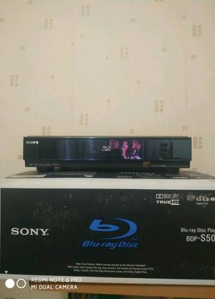 Bly-ray проигрыватель Sony BDP-S500