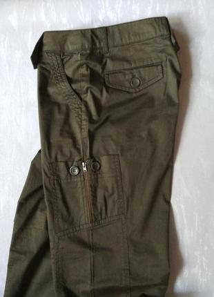 Женские трекинговые штаны брюки в стиле милитари хаки More&More