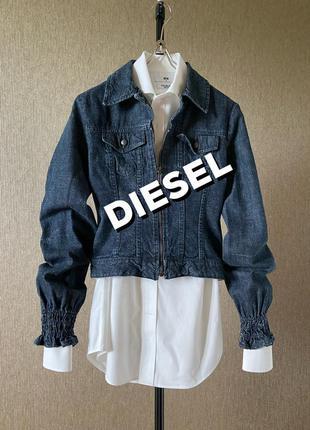 Diesel джинсовая куртка недорого италия