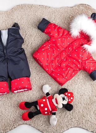 Детский комбинезон зимний куртка