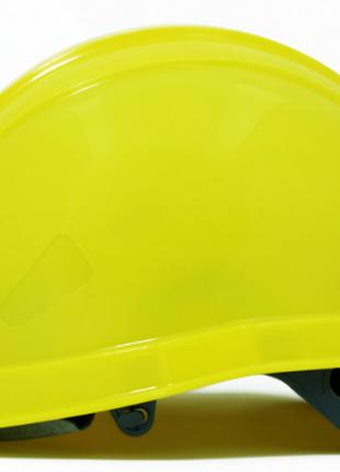 Каска защитная шахтерская желтая