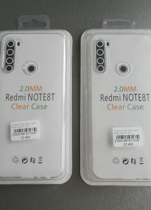 Чехол Clear Case для Xiaomi Redmi Note 8T