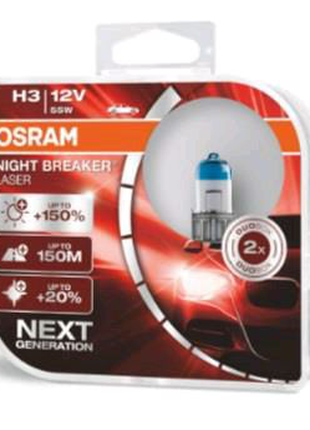Osram Night Breaker Laser H3 12V 55W