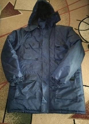 Зимняя мужская куртка. Спецодежда. Размер 56