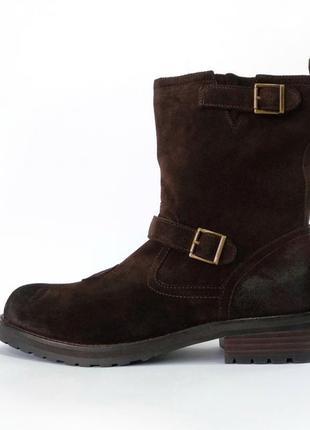 """Распродажа! замшевые ботинки belstaff """"oil resistant"""""""