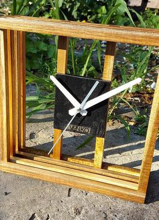 Настольные часы, дизайнерские часы, часы как декор, часы из де...