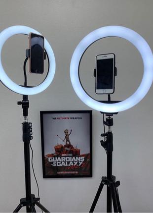 Кольцевая LED Лампа 30 см  со штативом 210 см