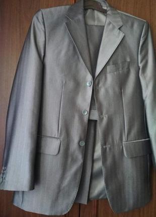 Мужской серый брючный костюм West-Fashion Evolution