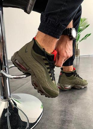 Кроссовки мужские 💥 nike air max sneakerboot 95 топ качество 💥...
