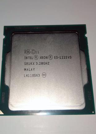 Процессор Intel Xeon 1225 v3 для сокета 1150