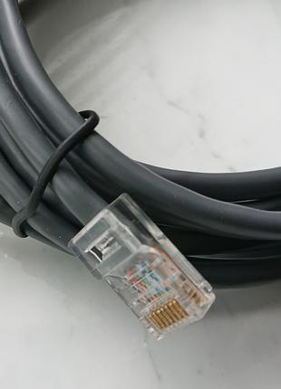 Интернет кабель (патч-корд) RJ45, cat5e, 2,95м