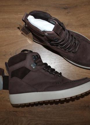 Ботинки кожаные ecco soft 7 tred, 41 размер