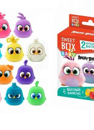 "Кидсбокс BABY ""ANGRY BIRDS"" мармелад С 2-мя игрушками в коробочке"