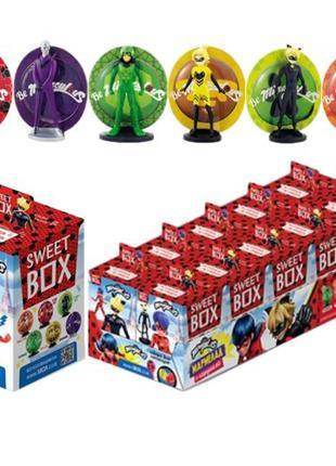 Sweet box Леди Баг и Супер-кот и мармелад в коробочке Свитбокс...