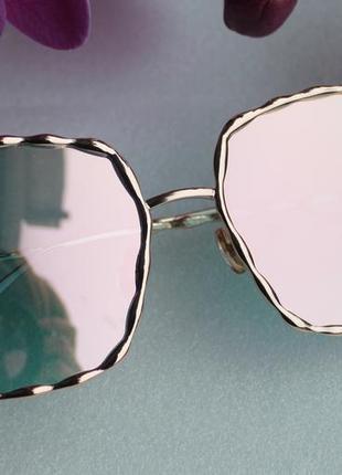 Новые модные солнцезащитные очки, розовая пудра
