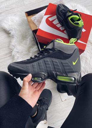 Nike air max 95 sneakerboot volt 🆕 шикарные кроссовки найк 🆕 к...