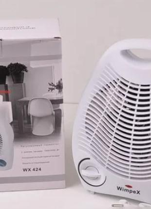 Компактный Тепловентилятор электрический обогреватель Wimpex WX-4