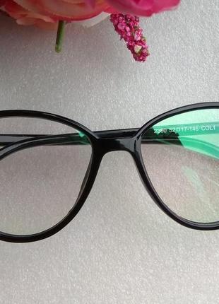 Новые имиджевые очки лисички (мелкими царапинками на стекле) у...