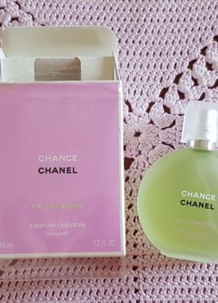 Chanel chance eau fraiche hair mist духи дымка мист для волос