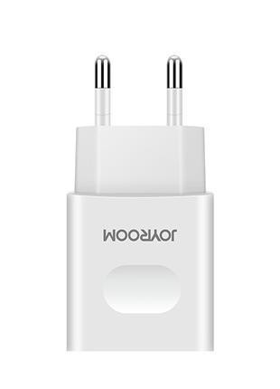 Мережевий зарядний пристрій Joyroom L-L221 2USB 2A + Lightninig C
