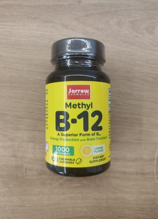 Jarrow formulas, витамин b-12, метилкобаламин, 100 шт. США