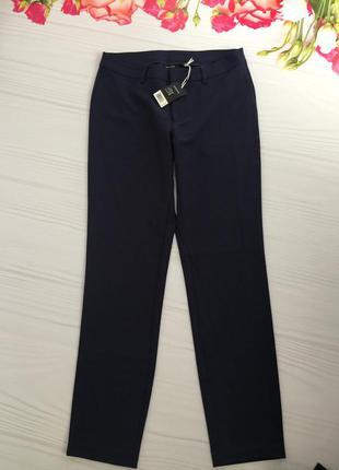 Тёмно-синие брюки коллекция хайди клум размер m-l
