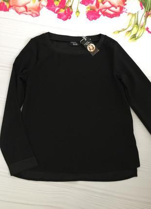 Блуза с длинным рукавом/ плотная кофточка коллекция хайди клум