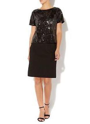 Вечернее платье в пайетки от mary portas / нарядное прямое платье