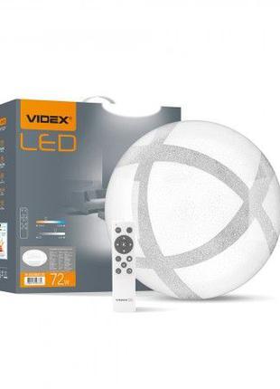 Cветильник LED 72W ЛЮСТРА с пультом круглая 2800-6200