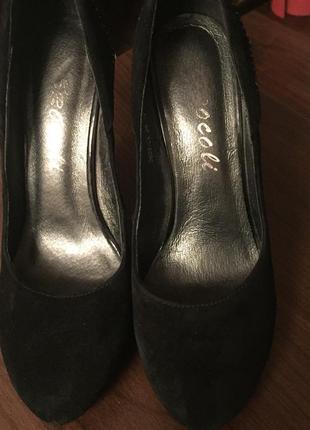 Туфли натуральный замш 36 размер