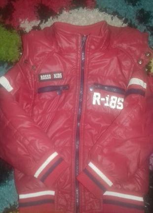Куртка деми  мальчик  2-4 года