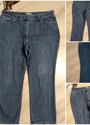 Мам джинсы брюки штаны синие классические