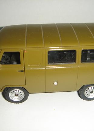 Машинка металлическая УАЗ – 39625 Инерционная.