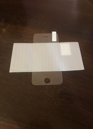 Защитное стекло (броня) iPhone 5,5C,5S,SE айфон