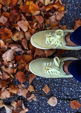 Кожаные кроссовки mango  р.40-41