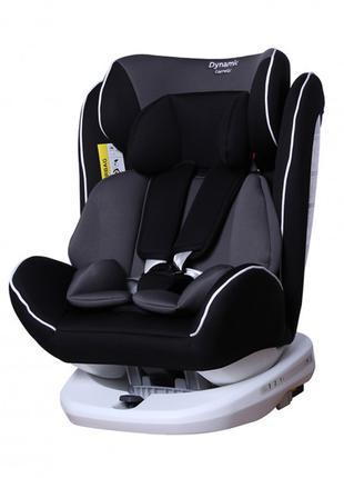 Автокресло детское с поворотом CARRELLO Dynamic CRL-13802 Carbon