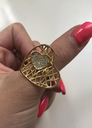 Кольцо на большой палец сердце